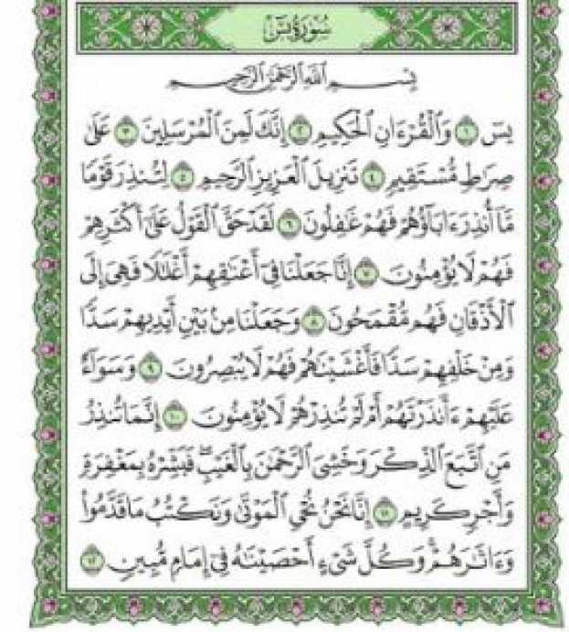 Does Reading Surat Yaseen Benefit the Dead?